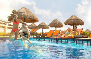 traveling with kids to cancun