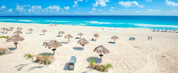 Cancun beach best places to visit in Mexico MexVax mexican hotels and resorts